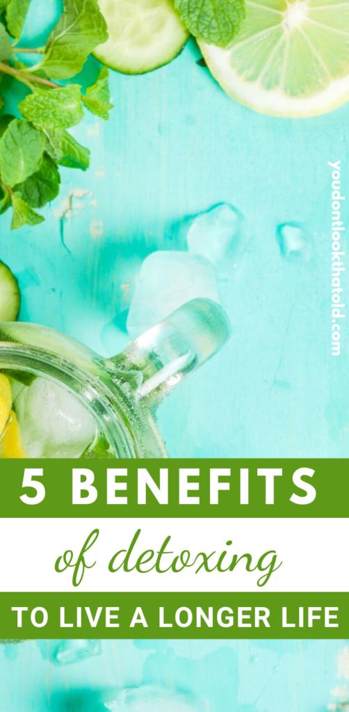Benefits of Detoxing - a Detox drink