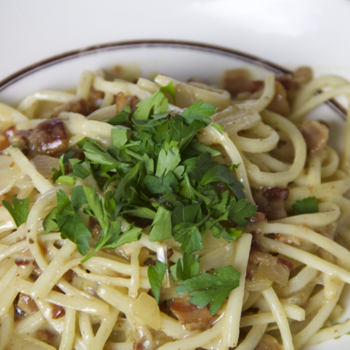 Low Carb Carbonara