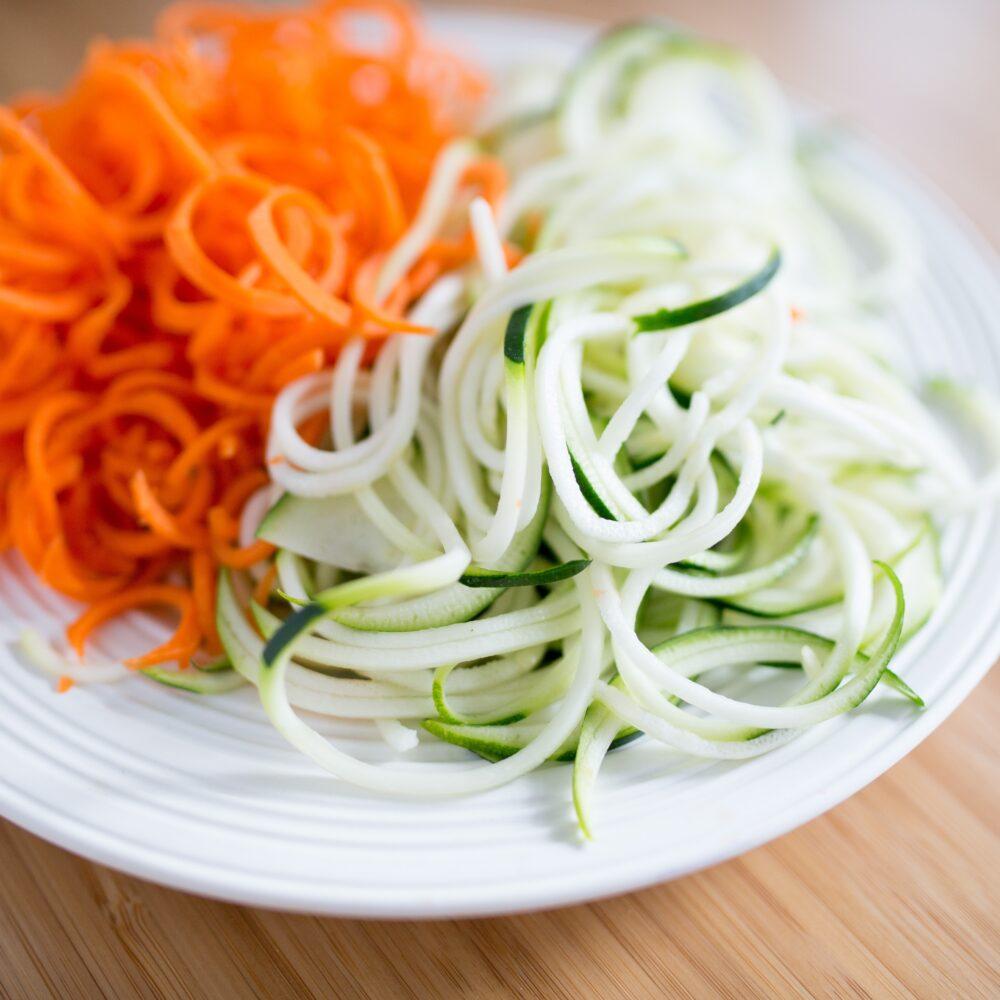 Low Carb Pasta - Zoodles