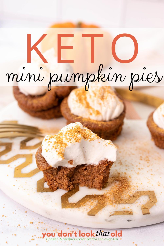 How to Make Mini Keto Pumpkin Pies
